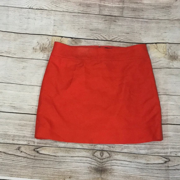 J. Crew Dresses & Skirts - J.CREW Orange Skirt